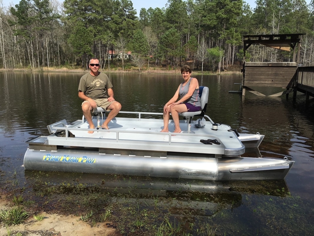 Pond king pro overview leisure lifestyle products for Pond fishing boats